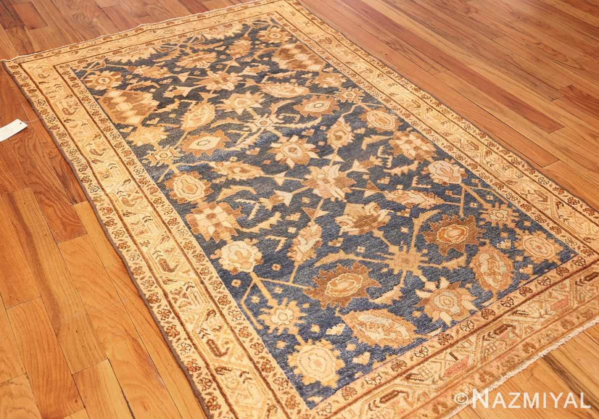 antique navy background persian malayer rug 49221 whole Nazmiyal