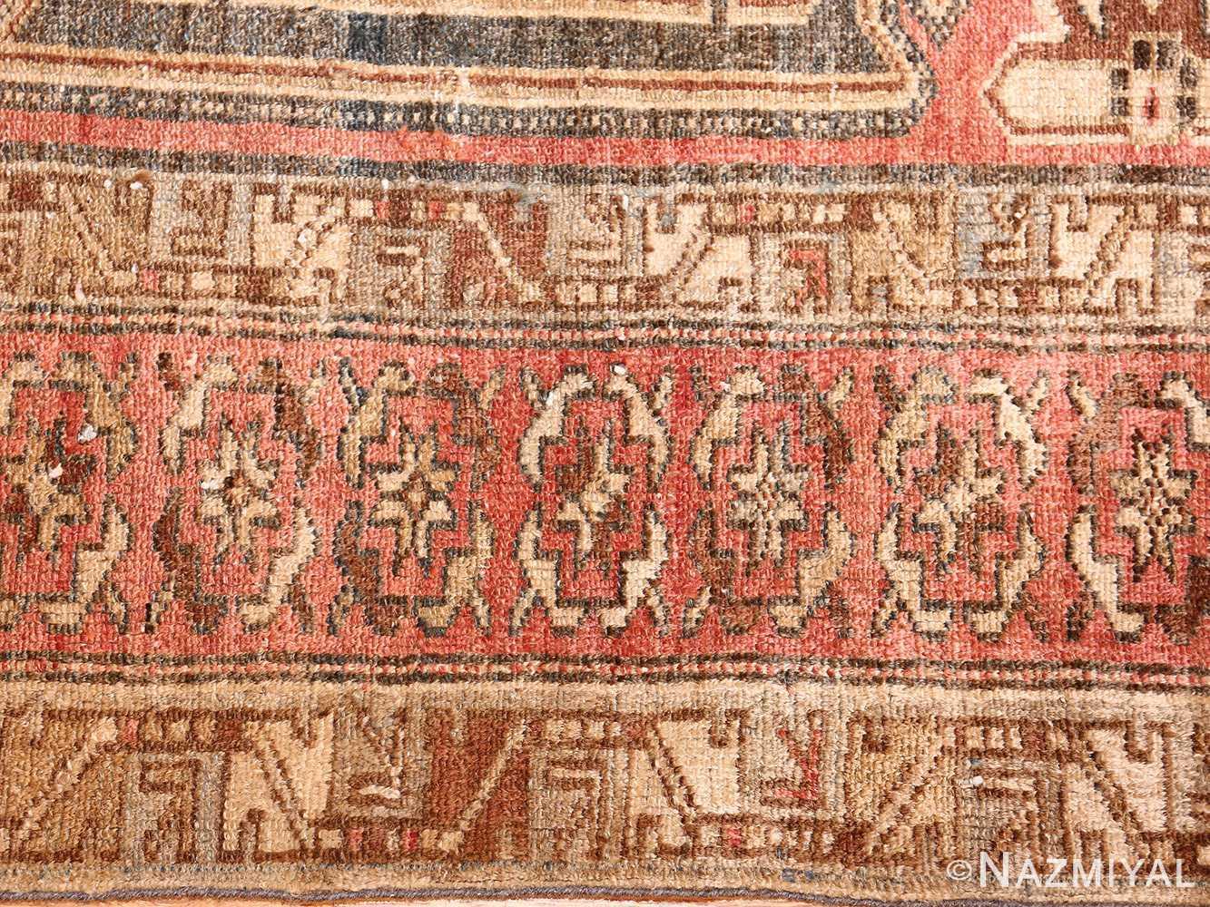 antique persian malayer rug 50711 border Nazmiyal