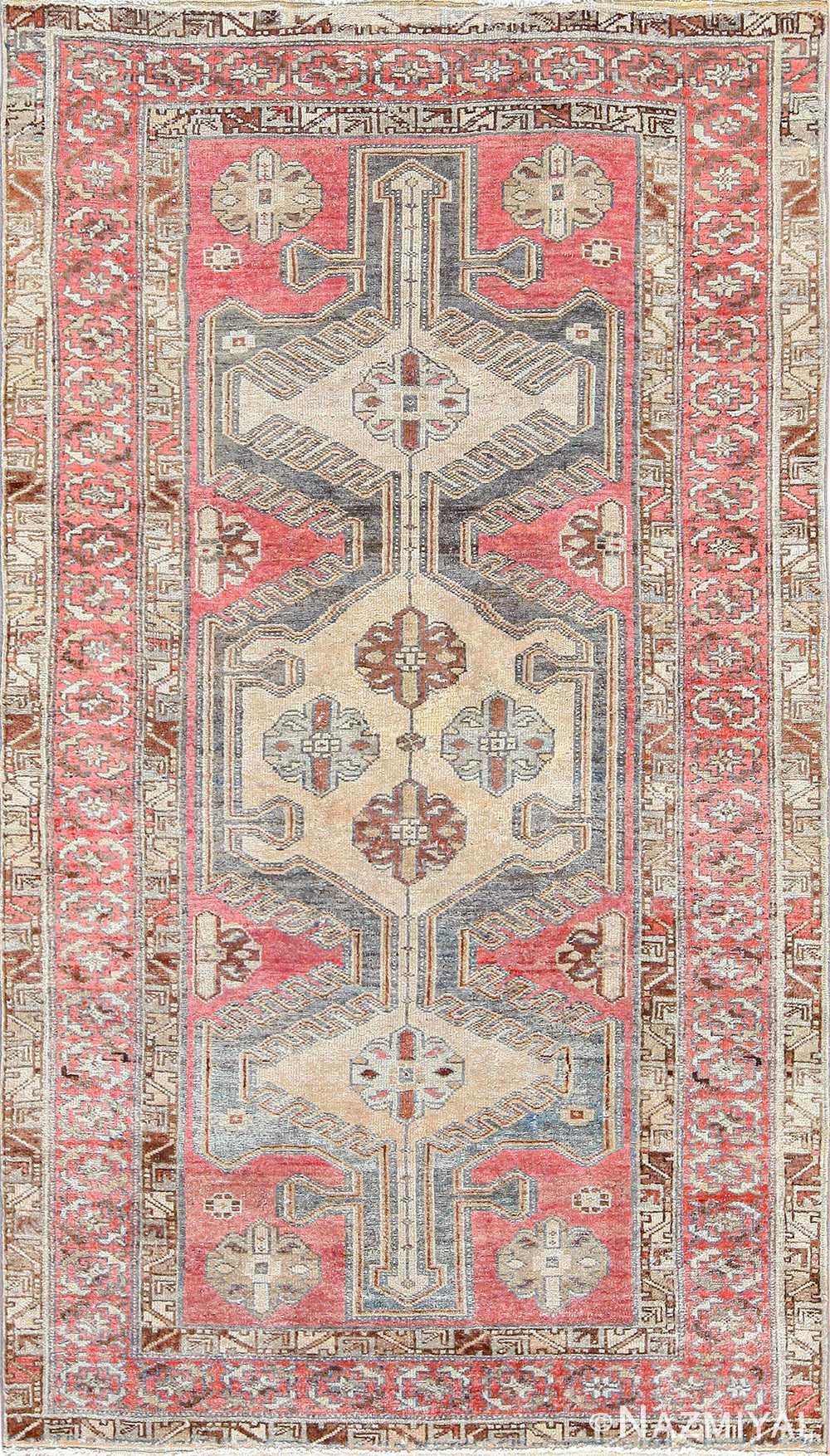 antique persian malayer rug 50711 Nazmiyal