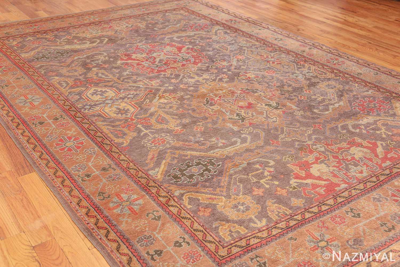 antique turkish oushak rug 49220 whole Nazmiyal