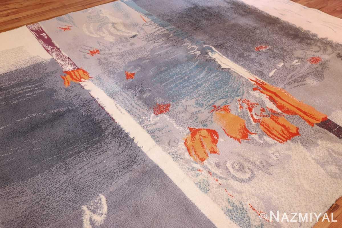 vintage swedish rug 49215 side edited Nazmiyal