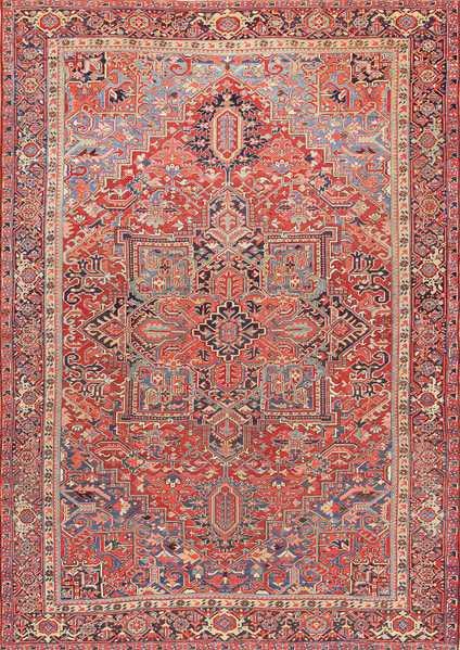 Antique Persian Heriz Carpet, Nazmiyal