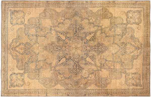 Finely Woven Large Antique Persian Kerman Rug, Nazmiyal
