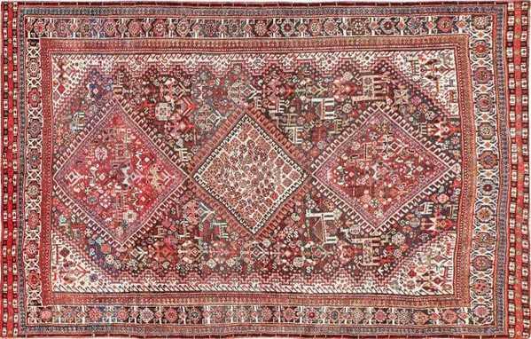 Antique Persian Afshar Rug, Nazmiyal