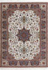 fine ala baf vintage tabriz persian rug 51046 Nazmiyal