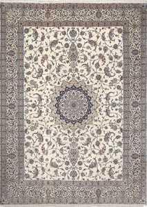 fine habibian vintage nain persian rug 51024 Nazmiyal