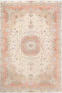 fine shirfar vintage tabriz persian rug 51034 Nazmiyal