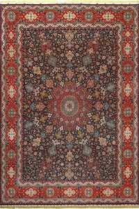 fine zohreh design vintage tabriz persian rug 51047 Nazmiyal