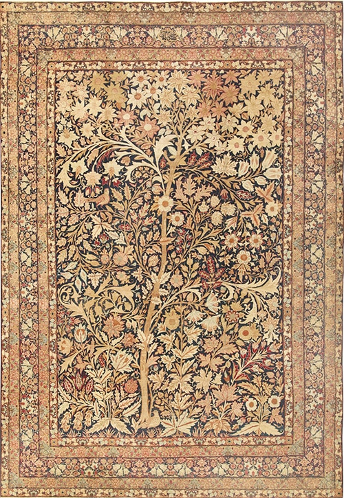 Persian Tree Of Life Design Rug Nazmiyal