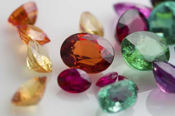 Colorful Gems and Jewels Nazmiyal