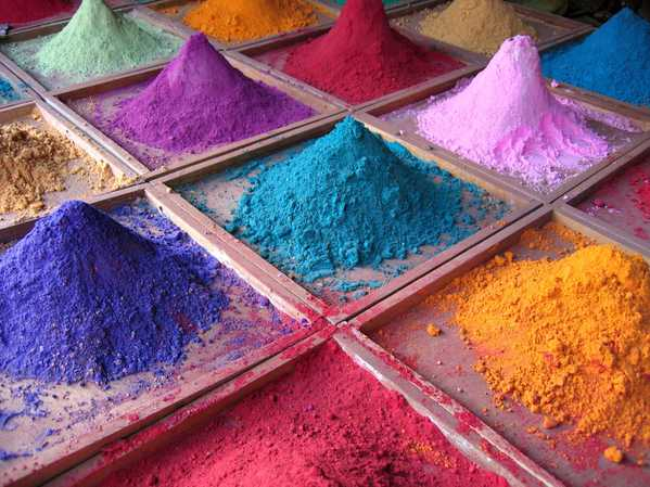 Dyes for Jewel Tone Color Rugs by nazmiyal