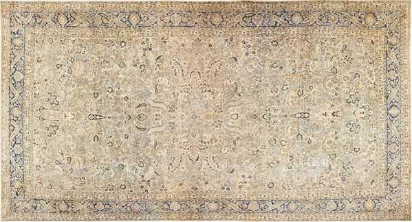 Oversized Antique Persian Khorassan Rug, Nazmiyal