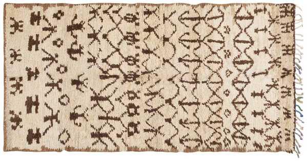Vintage Moroccan rug, Nazmiyal