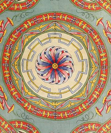 Oversized Spanish Art Deco Carpet, Nazmiyal