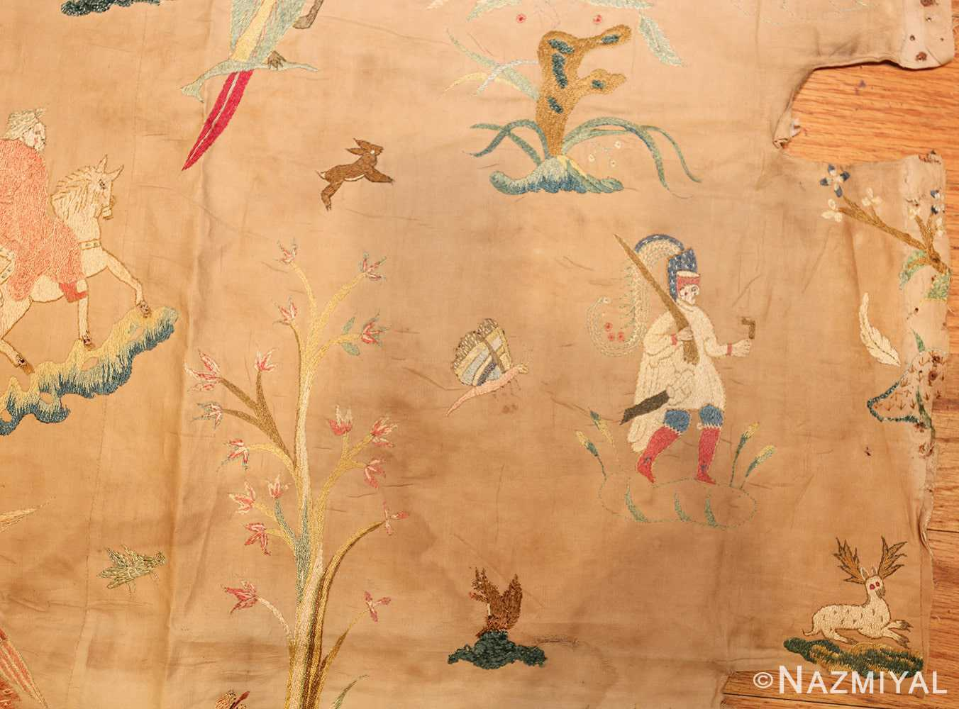 18th century indian embroidery textile 49098 tree Nazmiyal
