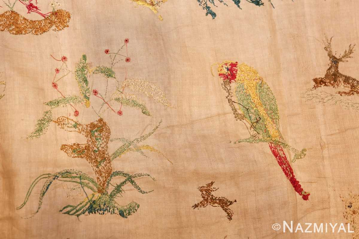 18th century indian embroidery textile 49098 weave Nazmiyal
