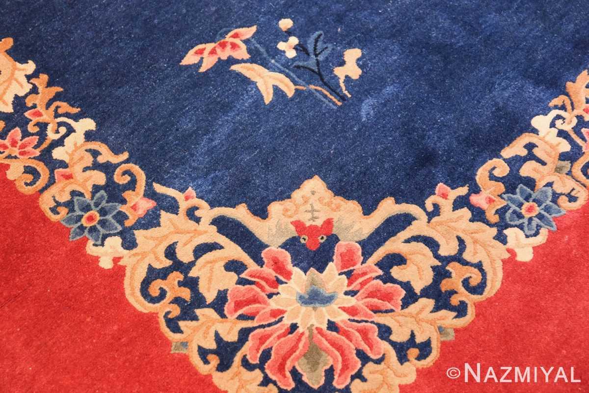 antique blue chinese rug 49243 design Nazmiyal