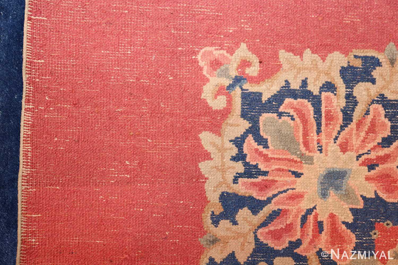 antique blue chinese rug 49243 weave Nazmiyal