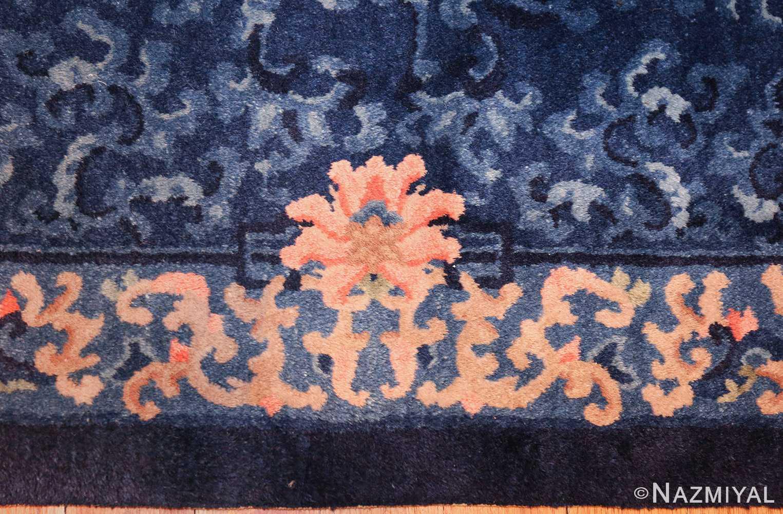 antique floral chinese rug 49241 border Nazmiyal