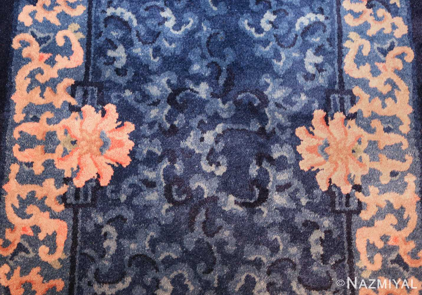antique floral chinese rug 49241 middle Nazmiyal