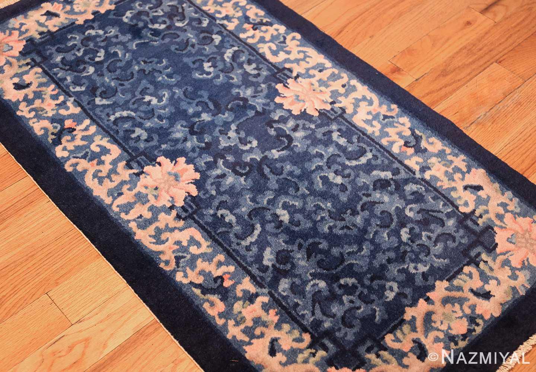 antique floral chinese rug 49241 side Nazmiyal