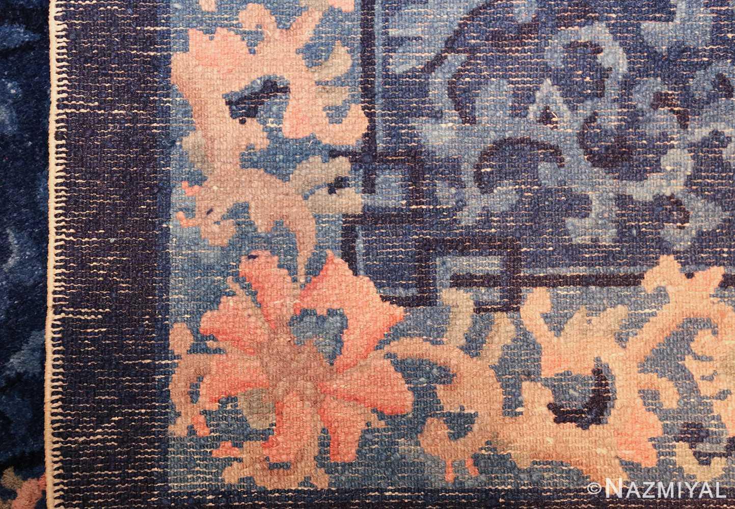 antique floral chinese rug 49241 weave Nazmiyal