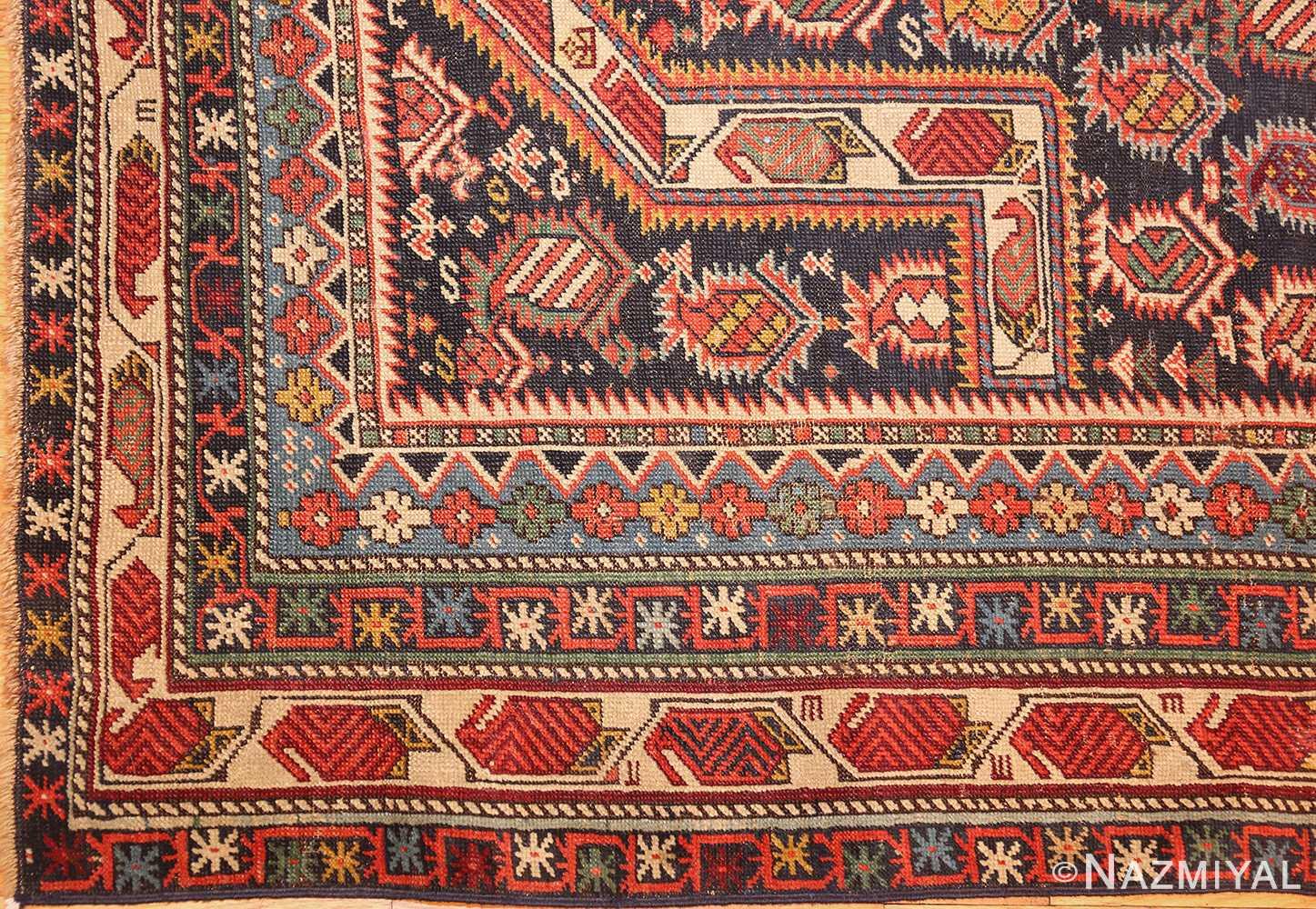 antique maracelli caucasian rug 48800 corner Nazmiyal