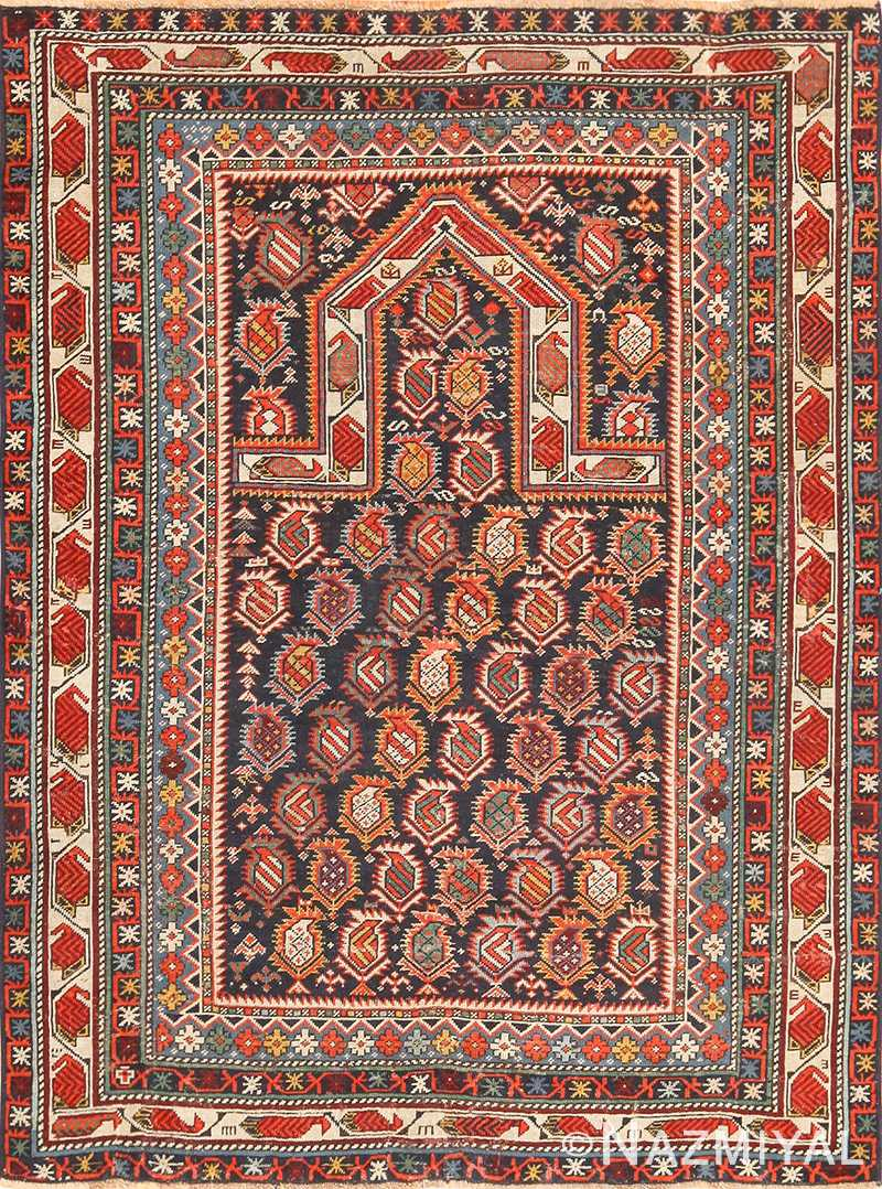 antique maracelli caucasian rug 48800 Nazmiyal