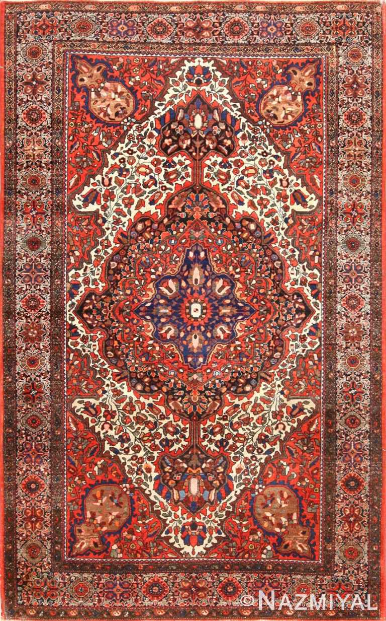 antique sarouk farahan persian rug 49236 Nazmiyal