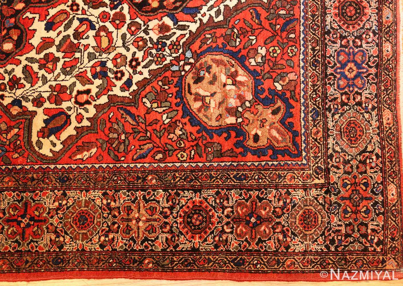 antique sarouk farahan persian rug 49236 corner Nazmiyal