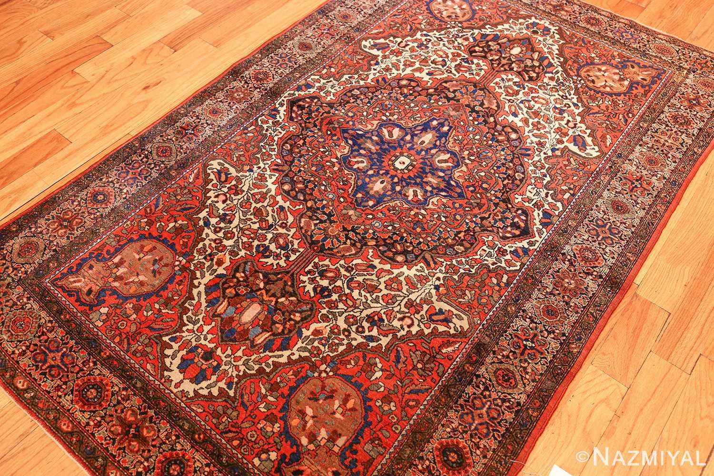 antique sarouk farahan persian rug 49236 side Nazmiyal