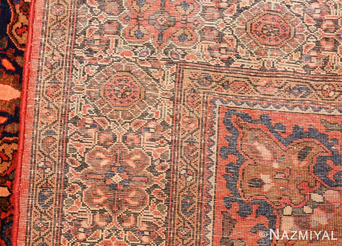antique sarouk farahan persian rug 49236 weave Nazmiyal