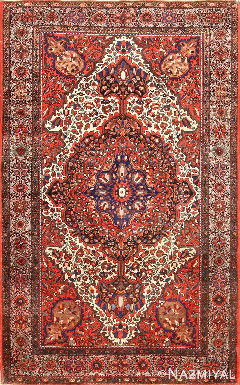 antique sarouk farahan persian rug 49236 Nazmiyal