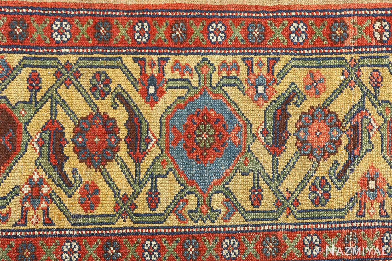 antique serab persian rug 51067 border Nazmiyal