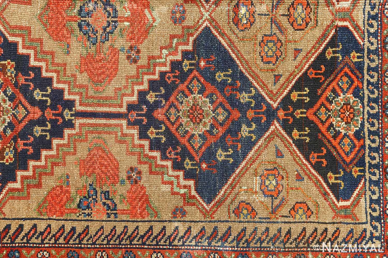 antique serab persian rug 51067 corner Nazmiyal
