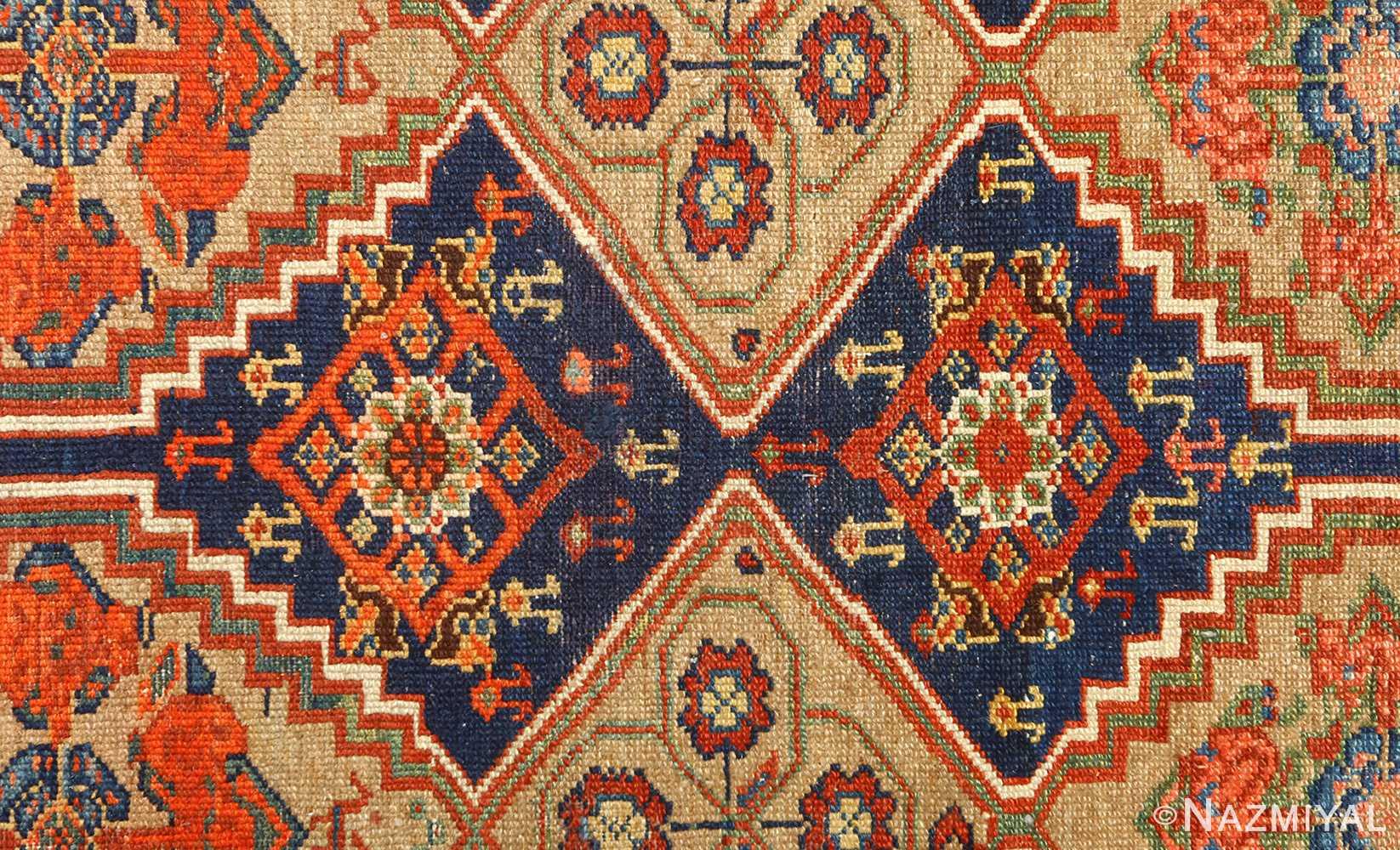 antique serab persian rug 51067 design Nazmiyal