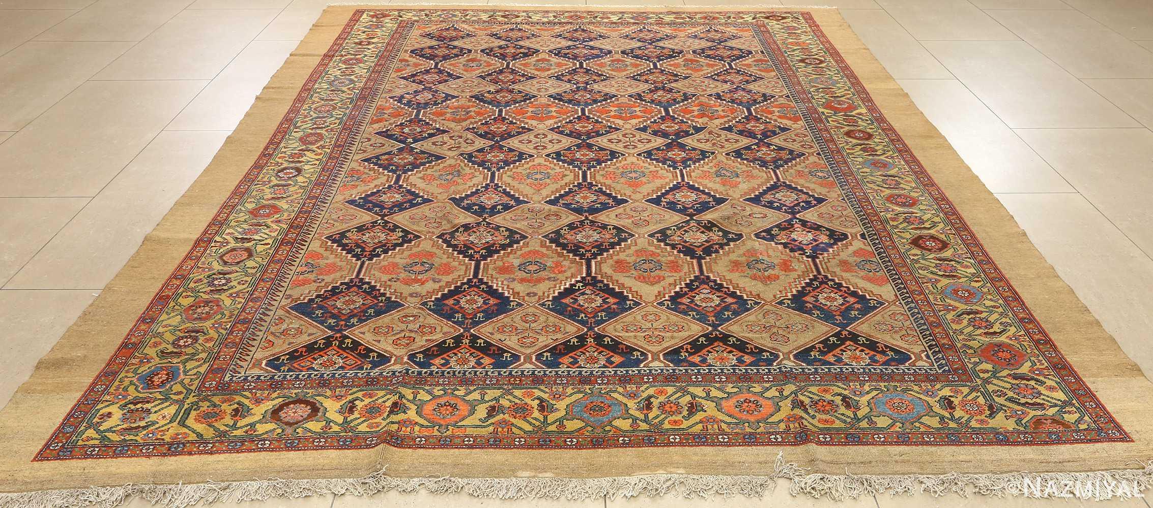antique serab persian rug 51067 full Nazmiyal