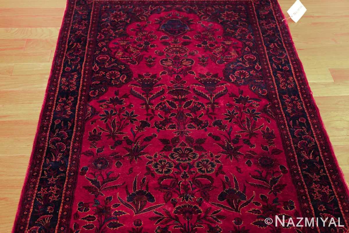 antique silk kashan persian rug 49251 darkside edited Nazmiyal