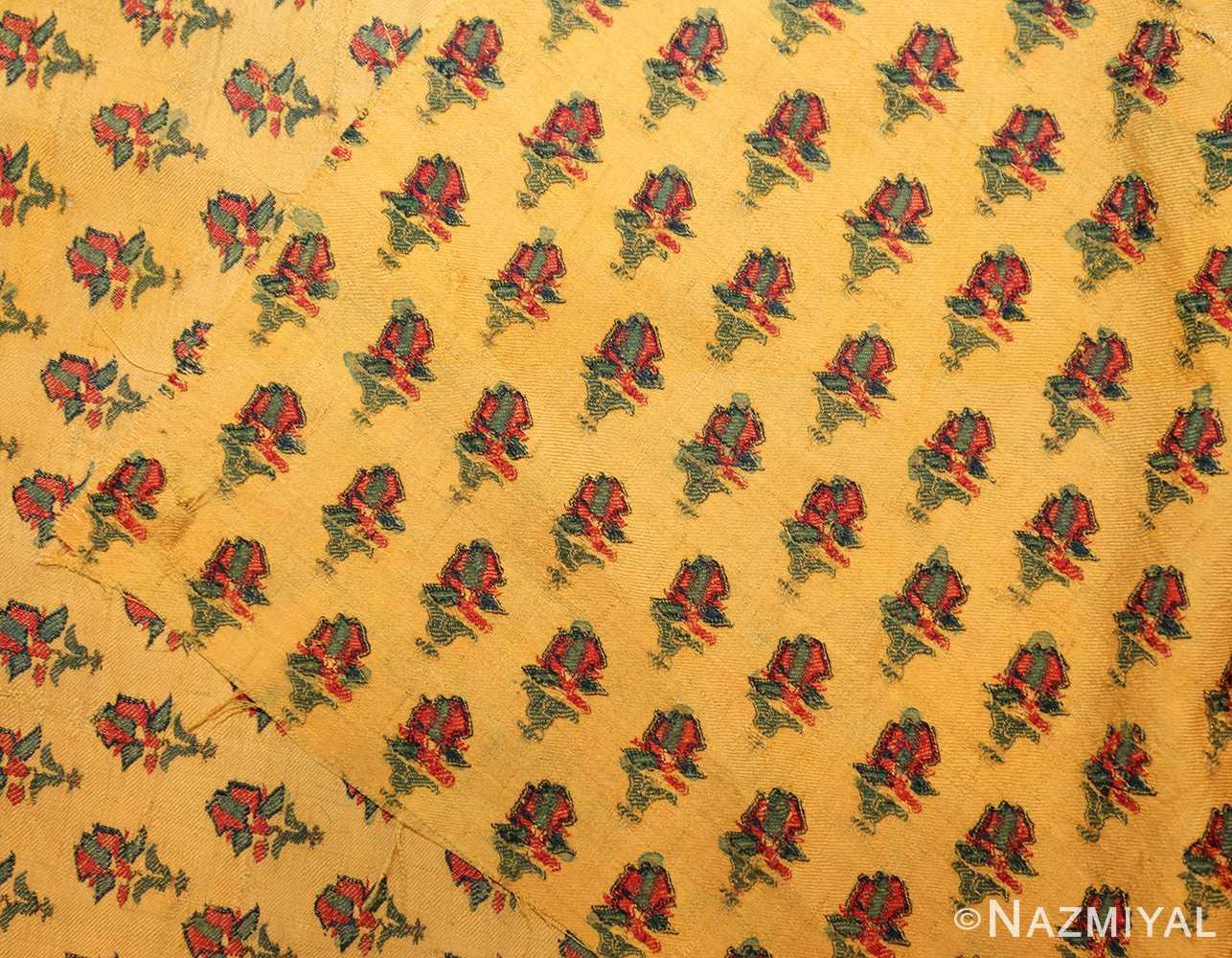 antique silk kashmir mughal shawl 49092 back Nazmiyal