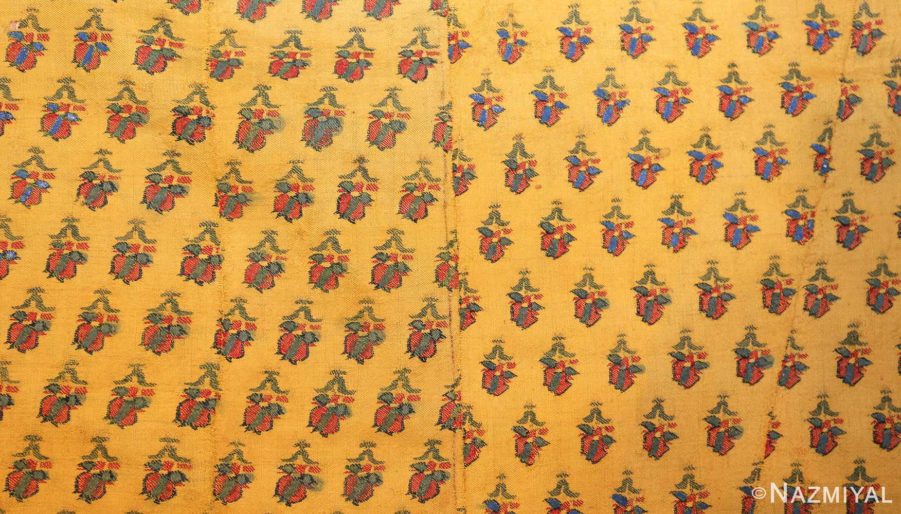 antique silk kashmir mughal shawl 49092 field Nazmiyal