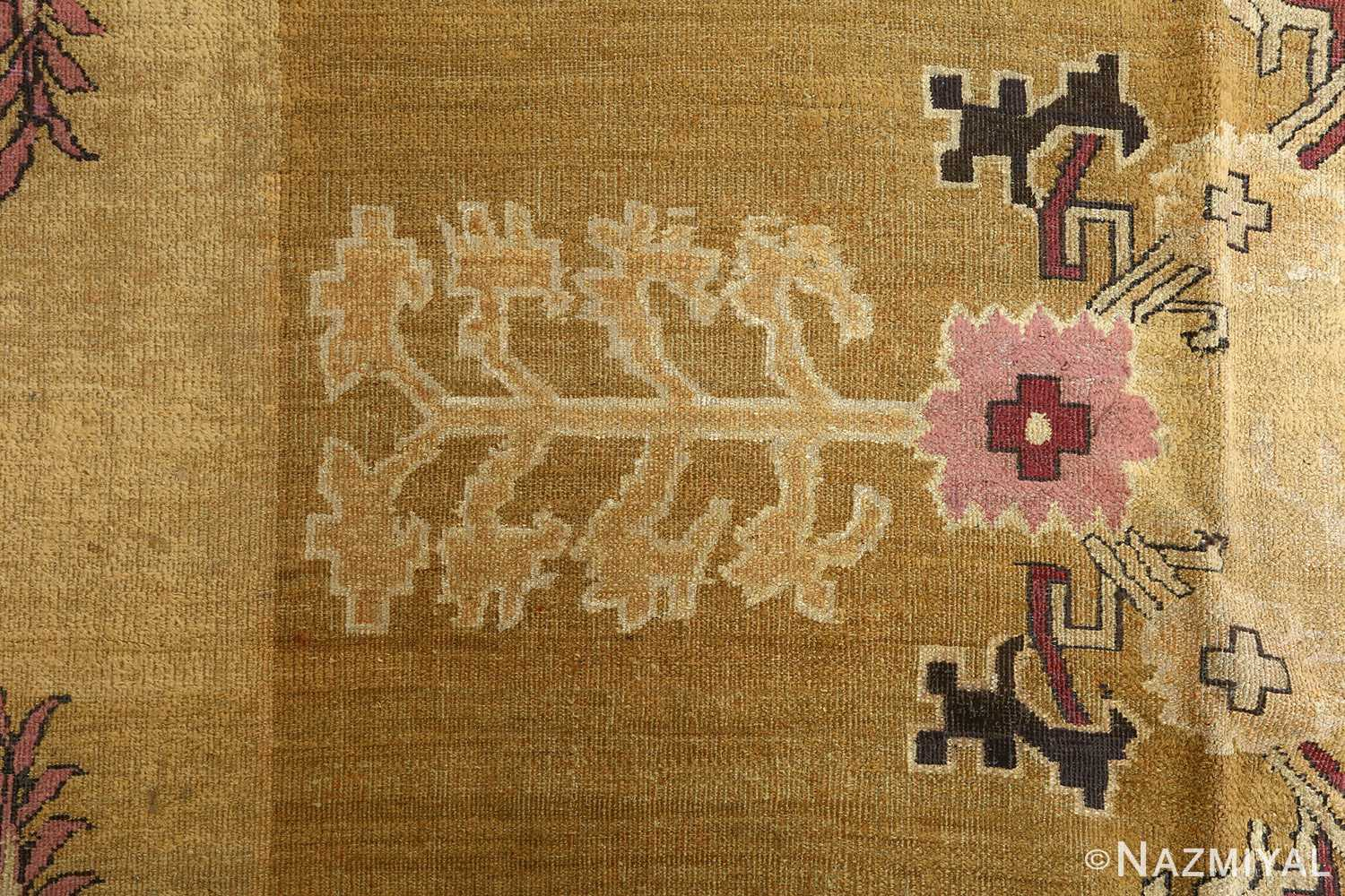 antique tribal agra indian rug 51063 design Nazmiyal