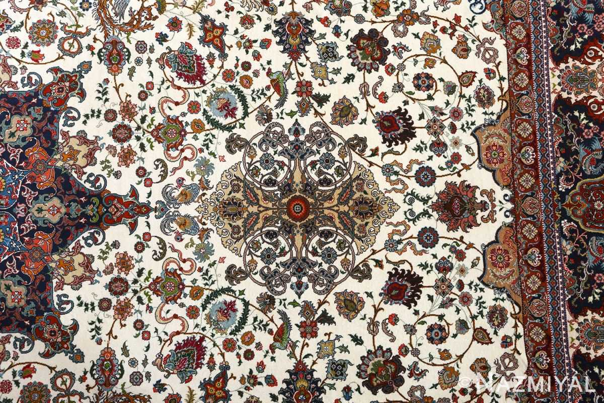 fine ala baf vintage tabriz persian rug 51046 field Nazmiyal
