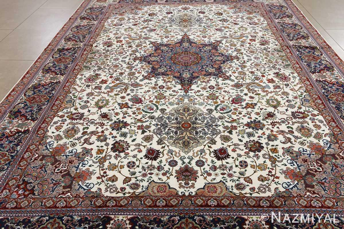 fine ala baf vintage tabriz persian rug 51046 full Nazmiyal