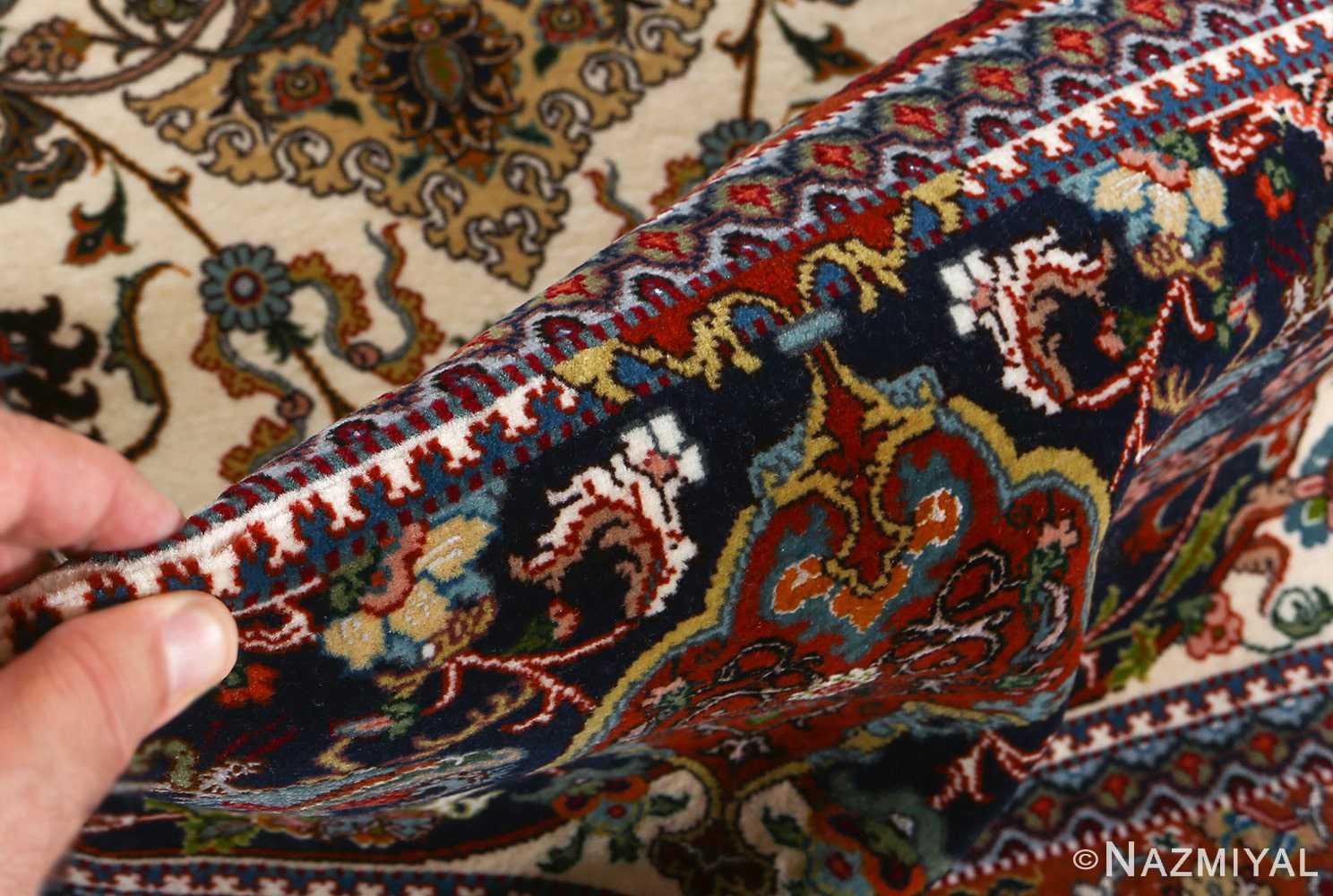 fine ala baf vintage tabriz persian rug 51046 pile Nazmiyal