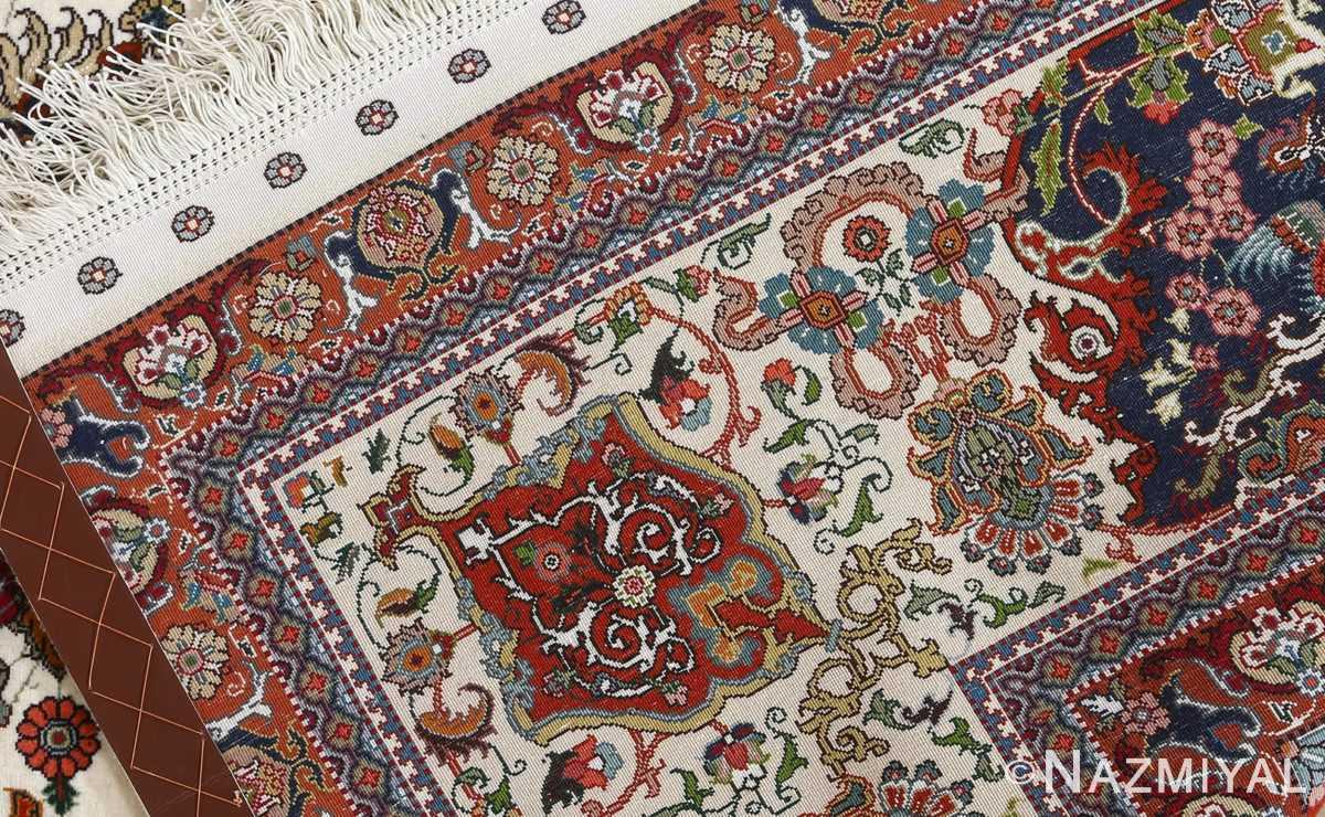 fine ala baf vintage tabriz persian rug 51046 weave Nazmiyal