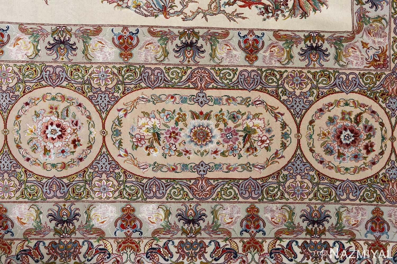 fine gharebaghi design vintage tabriz persian rug 51049 design Nazmiyal