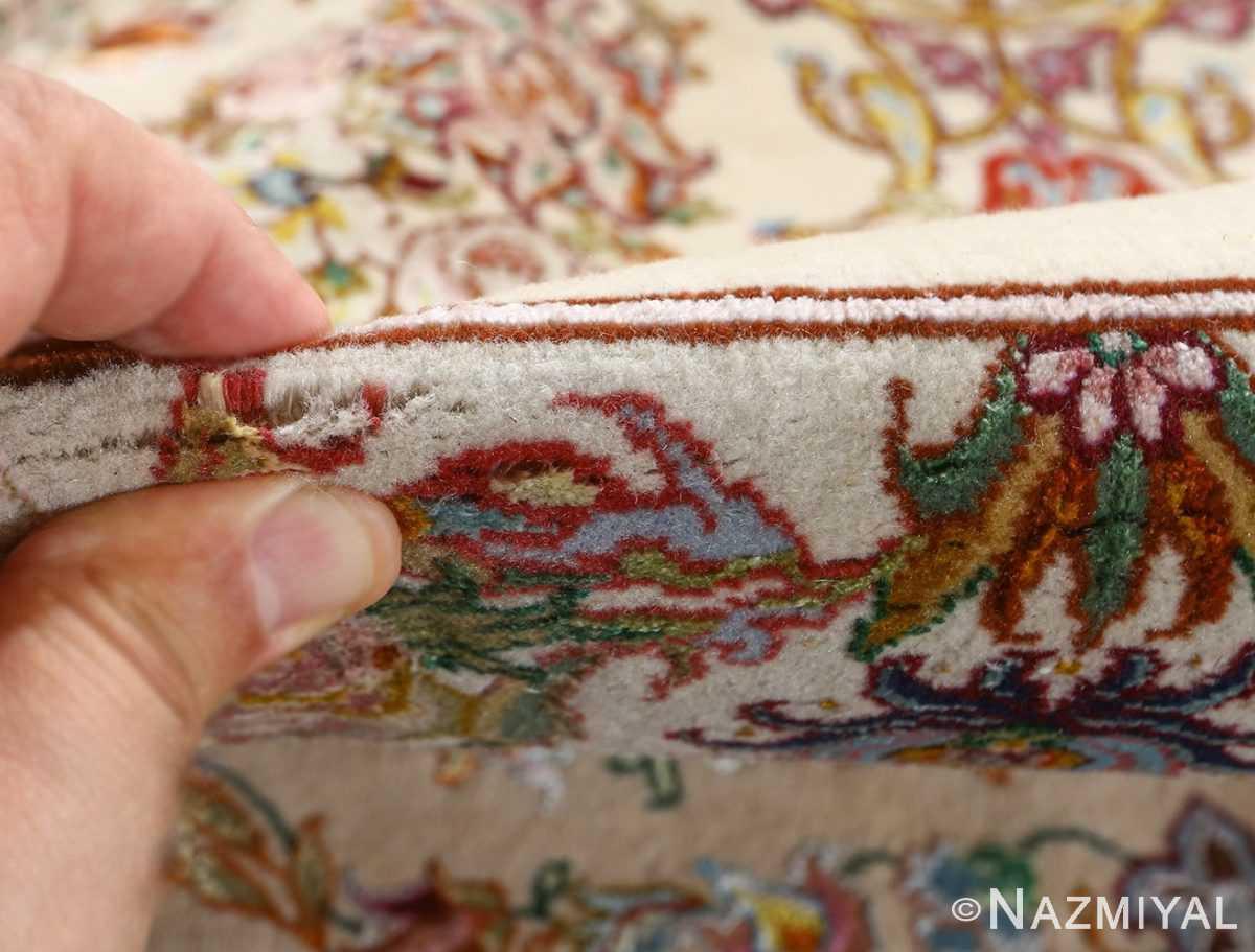fine gharebaghi design vintage tabriz persian rug 51049 pile Nazmiyal
