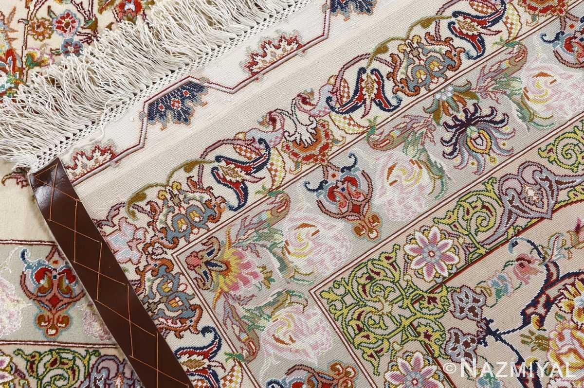 fine gharebaghi design vintage tabriz persian rug 51049 weave Nazmiyal