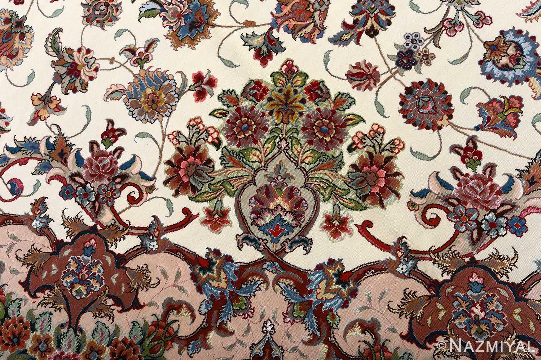 fine gharebaghi vintage tabriz persian rug 51030 bouquet Nazmiyal