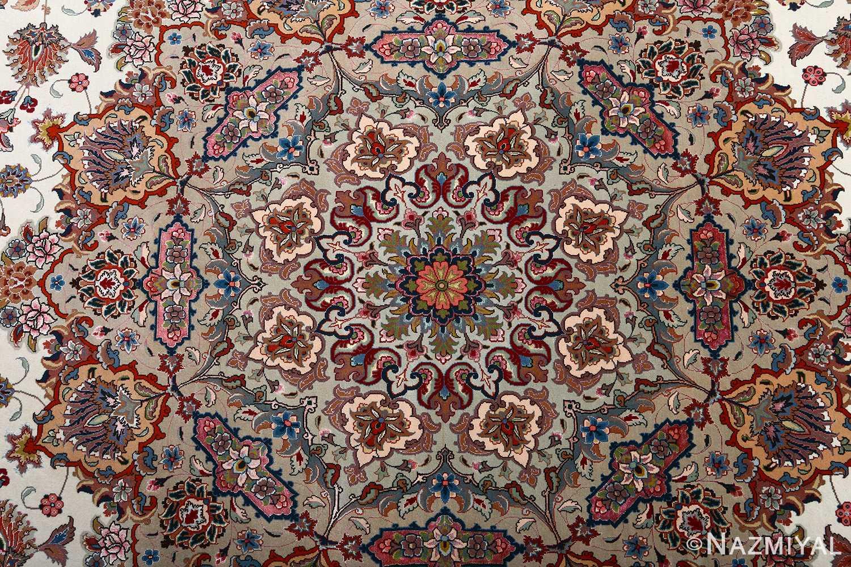 fine gharebaghi vintage tabriz persian rug 51030 design Nazmiyal